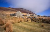 The Deserted Village under Slievemore, Achill Island off the coast of Co. Mayo.