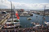 Closing ceremony The Volvo Ocean Race Galway.