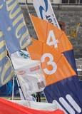 Closing ceremony The Volvo Ocean Race Galway.7 flags