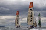 The start of Leg 8 of the Volvo Ocean Race, from Galway to Marstrand, Sweden. June 6th 2009.